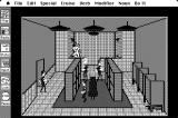 Police Quest: In Pursuit of the Death Angel Macintosh The locker room and shower