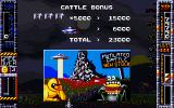 Taito's Super Space Invaders Amiga Cattle Mutilation Statistics