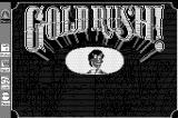 Gold Rush! Macintosh Title screen