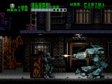 RoboCop Versus the Terminator SNES Robocop in yet another battle against his arch-nemesis, ED-209