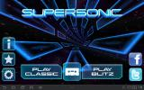 Supersonic Android Main menu