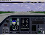 Perfect Flight Deluxe: Great Britain Windows <i>Microsoft Flight Simulator 98</i>. On the ground at Edinburgh aprport