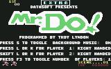 Mr. Do! Commodore 64 Title