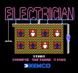 Electrician NES Title screen 1