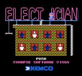 Electrician NES Title screen 2 - the R in the sign went out