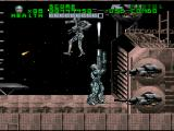 RoboCop Versus the Terminator SNES Despite all the indications of being a boss, the gate to SKYNET's interior is surprisingly easy to penetrate, one good grenade shot will blow it open.