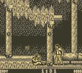 Indiana Jones and the Last Crusade: The Action Game Game Boy that's hurt!
