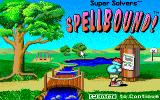 Super Solvers: Spellbound! DOS Title Screen