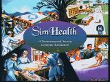 SimHealth DOS Title screen