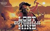 Lost Dutchman Mine DOS Title Screen
