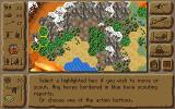 The Lost Tribe DOS Main Game Screen