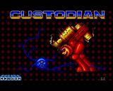 Custodian Amiga Title screen