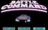 Battle Command DOS Title screen (CGA)