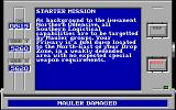 Battle Command DOS Mission Status (EGA/Tandy)