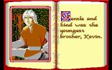 The Faery Tale Adventure: Book I DOS Kevin the youngest brother, known for his kindness (EGA)
