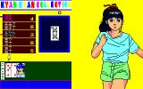 Kyan Kyan Collection PC-88 Close to a win against this athletic girl