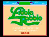 Libble Rabble FM Towns Old title screen