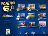 PC Fútbol 6.0 Windows Main Menu