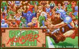 Grand Monster Slam Atari ST Title screen