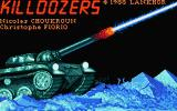 Killdozers Atari ST Title screen
