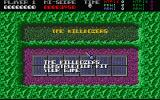 Killdozers Atari ST Menu