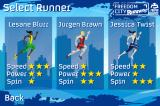 Freedom City Runners Browser And three different athletes