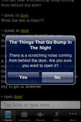 The Things that Go Bump in the Night iPhone You know they mean business now!