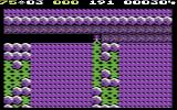 Boulder Dash II: Rockford's Revenge Commodore 64 Lots of green slime and rocks, but where are the diamonds?