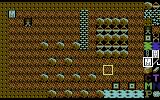 Boulder Dash: Construction Kit Commodore 64 Placing objects in the cave