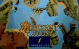 Merchant Colony DOS Title Screen