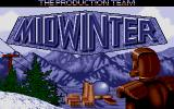 Midwinter DOS Title Screen