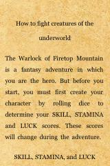 Fighting Fantasy: The Warlock of Firetop Mountain iPhone Gamebook premise, explained!