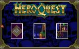 HeroQuest DOS Main Menu