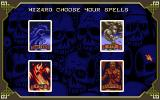 HeroQuest DOS The Wizard and the Elf can choose their specialty in magic