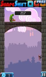 NinJump Deluxe Android An ogre on a bridge