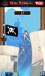 NinJump Deluxe Android Start of pirate level