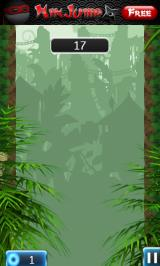 NinJump Deluxe Android Start of jungle level