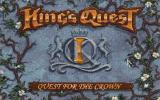 King's Quest: Quest for the Crown DOS Main Title