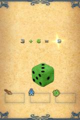 Fighting Fantasy: City of Thieves iPhone Generating a character -- I roll the die, the iPod adds the results for me.