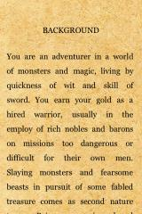 Fighting Fantasy: City of Thieves iPhone Introduction