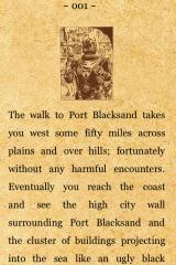 Fighting Fantasy: City of Thieves iPhone Opening paragraph