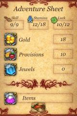 Fighting Fantasy: City of Thieves iPhone Aren't I swell?
