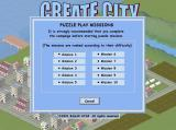 Create City Windows This is the menu for the puzzle missions