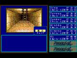 Record of Lodoss War: Haiiro no Majo FM Towns Tower dungeon. Standing in front of a ladder