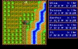 Record of Lodoss War: Haiiro no Majo PC-98 World map