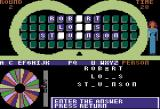 """Wheel of Fortune Apple II I know this one. It's """"Robert Louis Stevenson"""""""
