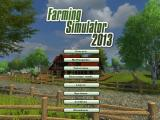 Farming Simulator 2013 Windows Title screen