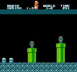 All Night Nippon Super Mario Bros. NES Those piranha plants look awfully different