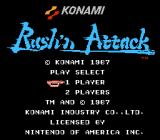 Rush'n Attack NES Title