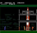 Rush'n Attack NES Destroy the rocket
